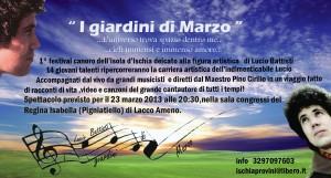 """Ischia - Il Festival """"I Giardini di Marzo"""""""