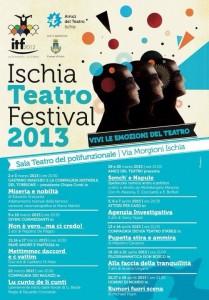 Ischia Teatro Festival - I nuovi spettacoli dal 1 Marzo al 27 Aprile