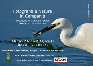 """Alla Biblioteca Antoniana di Ischia """"Fotografia e Natura in Campania"""""""