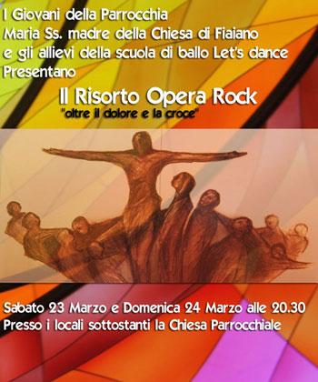 A Fiaiano d'Ischia la Resurrezione in versione Rock