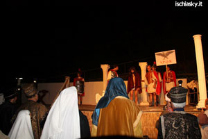 """Oggi a Forio d'Ischia la """"Passione e Morte di Gesù tra le rocce di Zaro"""""""