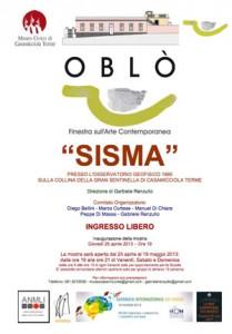 """A Casamicciola Terme la mostra """"Sisma"""""""
