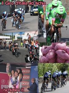 Il Giro d'Italia ad Ischia - Il Resoconto della Tappa