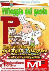 """Barano d'Ischia si trasforma in """"Villaggio del gusto"""""""