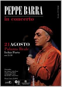 Tutto pronto per il concerto di Peppe Barra ad Ischia