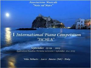 Il 25 settembre al via l'International  Piano Competition 'Ischia'