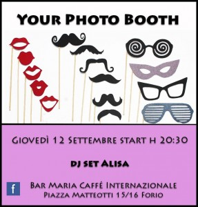 "Al Bar Maria di Forio d'Ischia ""Your photo booth"""