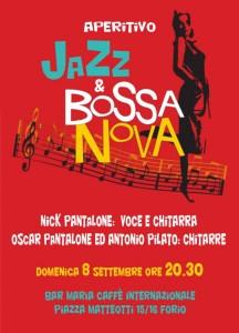 Al Bar Maria di Forio d'Ischia Jazz & Bossa Nova Nick Pantalone Oscar Pantalone e Antonio Pilato
