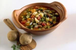 Ricette Ischitane - Il Minestrone contadino