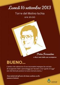 Stasera la serata dedicata a Pietro Ferrandino