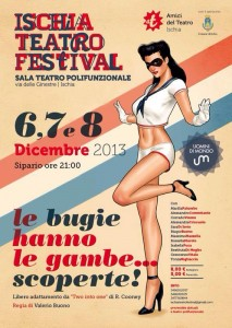 Ischia Teatro Festival il 6 dicembre si parte!