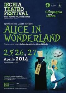 """All'Ischia Teatro Festival lo spettacolo """"Alice in Wonderland"""""""