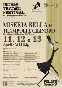 """All'Ischia Teatro Festival le commedie """"Trampoli e Cilindri"""" e """"Miseria Bella"""""""