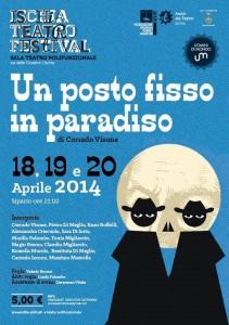 """All'Ischia Teatro Festival la Commedia """"Un posto fisso in paradiso"""""""