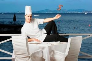 Sabato sera al Divina di Sant'Angelo d'Ischia - A cena con lo Chef Pasquale Palamaro