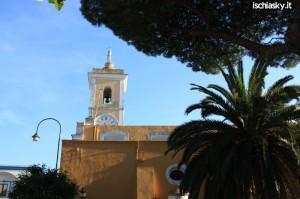 Fiaccolata di Solidarieta' per gli ospiti di Villa Orizzonte a Barano d'Ischia