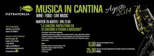A Forio d'Ischia - Musica in Cantina con Pietratorcia
