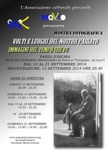 Ischia - Sabato a Panza  si inaugura la mostra  Volti e luoghi del nostro passato