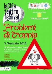 """Ischia Teatro Festival - Lo spettacolo """"Problemi di coppia"""""""