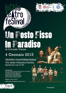 """Ischia Teatro Festival - Lo Spettacolo """"Un posto fisso in Paradiso"""""""