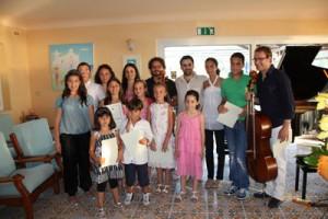 """Forio d'Ischia - Esibizione degli allievi della Scuola di Pianoforte """"Note Sul Mare"""""""