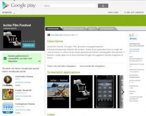 L'Ischia Film Festival sull'Android Market di Google
