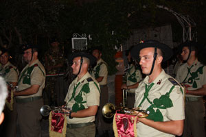 Eventi 2010 - La Fanfara dei Bersaglieri a Panza