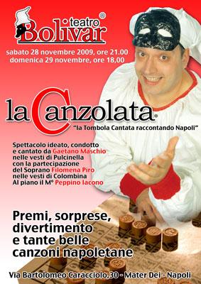 Ischia - La Canzolata, la tombola cantata, il 28 novembre