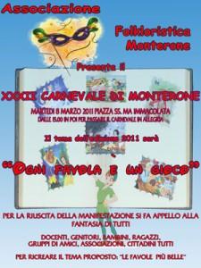 Eventi 2011 - Il Carnevale di Monterone