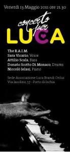 Eventi 2011 - Concerto Per Luca