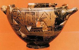 La Coppa di Nestore il più antico frammento poetico in lingua greca