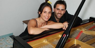 """Grande successo per il Duo pianistico Monti & Bianco al """"Careggi in Musica"""""""