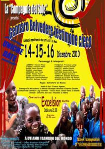 Eventi 2010 - La Compagnia del Sole - Gennaro Belvedere Testimone Cieco