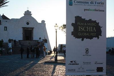 Ischia Global film & music festival - Piazzale del Soccorso con Dario Argento, i De Sica, Conticini e Pino Insegno