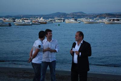 Ficarra e Picone, dall'Ischia Global a Venezia con Tornatore