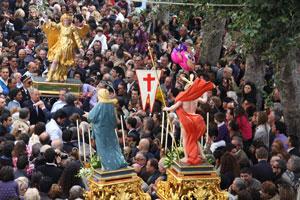 Eventi 2012 - La Corsa dell´Angelo a Forio d´Ischia