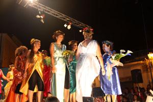 Eventi 2010 - Sfilata di beneficenza delle Over 40 a Panza