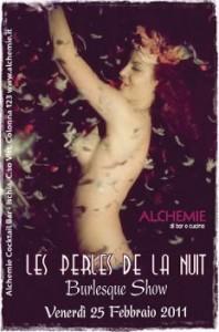 Eventi 2011 - Les perles de la nuit - Burlesque Show