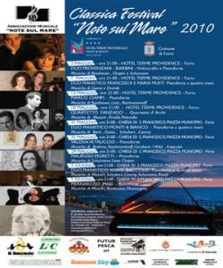 Eventi 2010 - Il Classica Festival Note sul mare