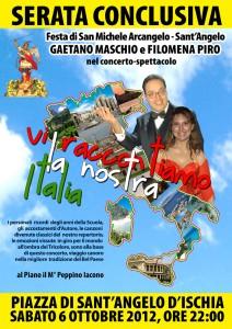 Sabato 6 ottobre il concerto spettacolo di Gaetano Maschio & Co per la Festa di S. Michele Arcangelo