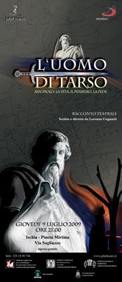 "Ischia - Jobel Teatro presenta ""L'Uomo di Tarso"""