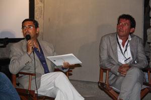Eventi 2010 - Ischia Film Festival - Parliamo di Cinema con Pippo Mezzapesa e Claudio Casadio