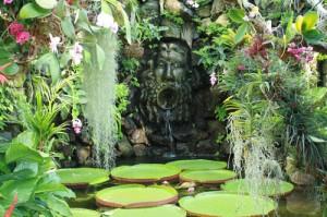 Alberto Tessarotto ai Giardini La Mortella di Forio d'Ischia