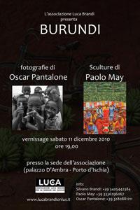 Eventi 2010 - Burundi - Mostra sull'Africa