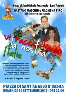 Festa di S. Michele Arcangelo ad Ischia - Gaetano Maschio e Filomena Piro in concerto