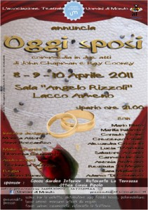 """Eventi 2011 - Gli Uomini di Mondo in """"Oggi sposi"""""""