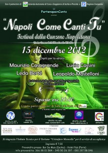 Ad Ischia - Napoli Come Canti Tu,  Festival della canzone napoletana