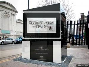 Severe Gusts Italy il marchio creato dal Designer Ischitano Simone Iodice