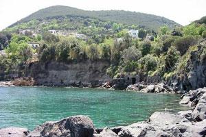 La spiaggia del Bagnitiello