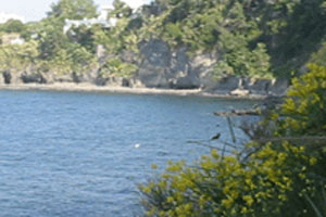 La spiaggia di Cafiero